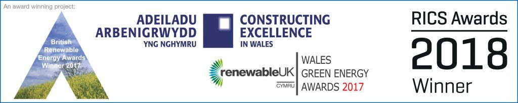 Awards for our solar technology and Active Buildings